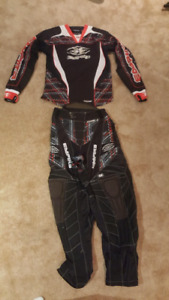 Empire Paintball Jersey, Pants & Belt (Size medium, waist 30-36)