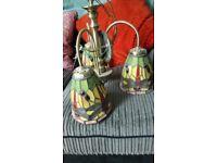Tiffany light fitting / lampshade