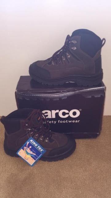 ARCO TROJAN WATERPROOF STEEL TOE & SOLE WORK BOOT