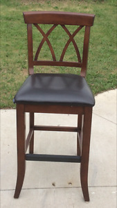 Bar stools, cabinets, chair, portraits, mirror for sale