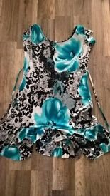 size 10 west one dress worn once