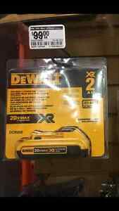 DeWalt 20V MAX Compact XR Lithium-Ion Battery Pack, Save $$$$