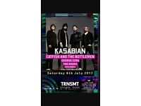 Kasabian TRNSMT tickets for sale (cheaper than face value!)