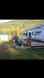 FABULOUS RV PROPERTY - SHUSWAP FALLS RV RESORT, ENDERBY