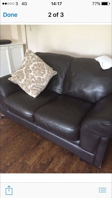Reids 32 leather sofasFREE Glasgow Deliveryin Glasgow City Centre, GlasgowGumtree - Reids of Glasgow Matching leather sofas 1 x large three seater 1 x two seater Both in spotlessly clean And in great condition £125 fixed price for both . Or Will sell them for £75 each if required . Can be viewed if required at GEAR G40 2SL FREE...