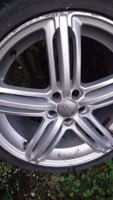 Audi alloys set of 4 18 inch