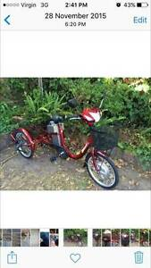Adult Electric Tricycle Red with large baskets at front and rear St Kilda Port Phillip Preview