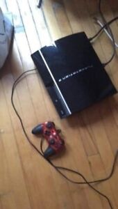 PlayStation 3 console with 1 controller