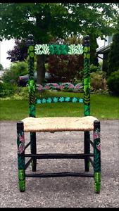Chaise des Antilles - création originale