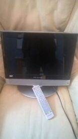 I have a 15inch bush TV forsale will also throw in a bt uview box no problems remotes are also with