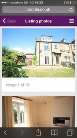3 bedroom house for rent good clean condition with garden