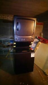 Stacked Washer and Dryer Unit in Good Condition