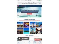 Affiliate Travel Website Business - Holidays, Flights, Hotels, Cruises, Car Hire WITH DOMAIN NAME