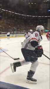 CANADA Finals Game 3 Sec 113 ON GLASS World Cup of Hockey WCH