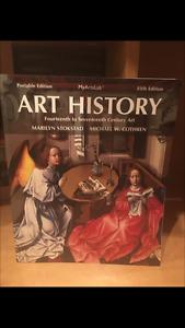 """Art History"" 14th-17th & 18th-21st Century Art - Stokstad 5 ed."