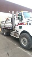 2003 STERLING DUMP TRUCK - AUTO - PAVING HITCH TO BE INSTALLED