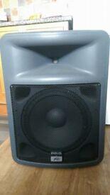 full pa system mackie desk peavey speakers stands akg mic