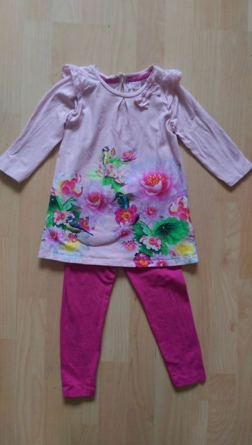 e9b39848b5554f Ted Baker (baker by Ted Baker - at Debenhams) tunic and leggings set - age  2-3