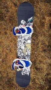Salomon Drift Snowboard 156 cm c/w Salomon Alibi Bindings