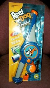 Dog Fishing Reel Cast, Fetch and Tug Toy