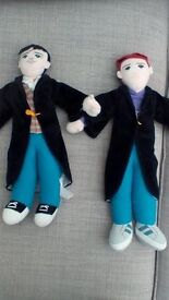 Harry Potter and Ron soft characters.£5 pair