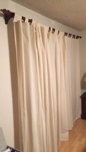 Biege Curtains - great condition