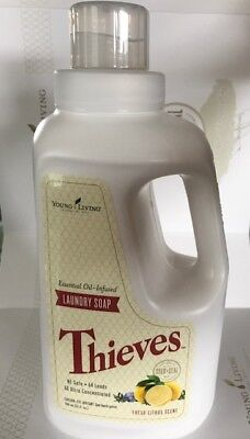 Young Living Essential Oil Infused Laundry Soap 32 fl oz HE Safe Fresh Citrus - He Lives He Lives