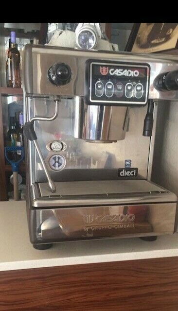 used commercial espresso machine Casadio