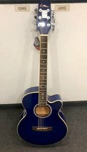 MARTINEZ MFC-31-BLS ACOUSTIC-ELECTRIC GUITAR *AS NEW* WITH BAG #235368 Lawnton Pine Rivers Area Preview