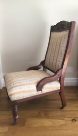 Period large occasional chair.