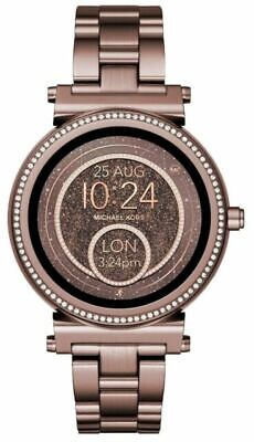 Michael Kors Access Women's Sofie Brown Glitz Touchscreen Smart Watch MKT5030J