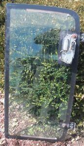 Hard Rear Window Glass With Wiper Motor