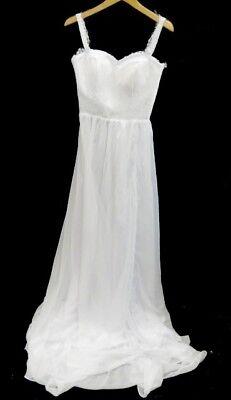 Sheath Style Wedding Dress   Size 8   Bnd