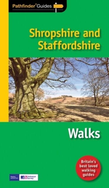 Pathfinder Shropshire & Staffordshire (Pathfinder Guides) (Paperb. 9781854586834