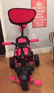 Pink/Black Toddler bike