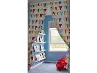 EUC Ikea Children's curtains 120x300cm