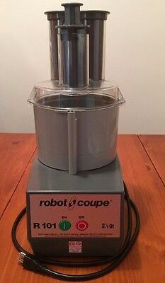 Robot Coupe R101 Combo Cuttervegetable Slicer 2.5 Qt. Gray Polycarbonate Bowl