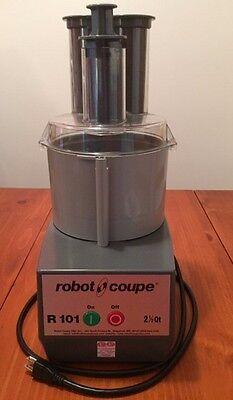 Robot Coupe R101 Combo Cuttervegetable Slicer 2.5 Qt. Gray Polycarbonate Bowl