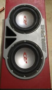 Subs in box with amp $300