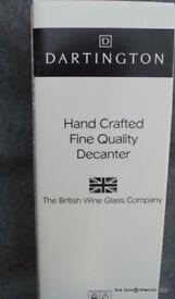 Dartington Hand Crafted Decanter