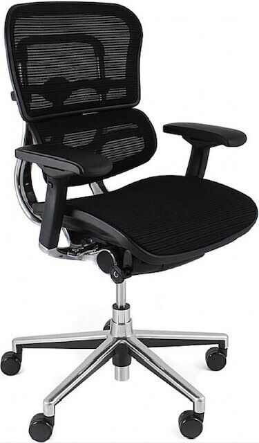 Ergohuman Ergonomic Office Chair Black Mesh Elite Executive | in Stanmore,  London | Gumtree