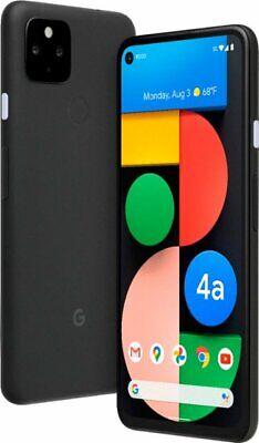 Unlocked Google Pixel 4a 5G 128GB Android Smartphone - Black (GA02293-US)