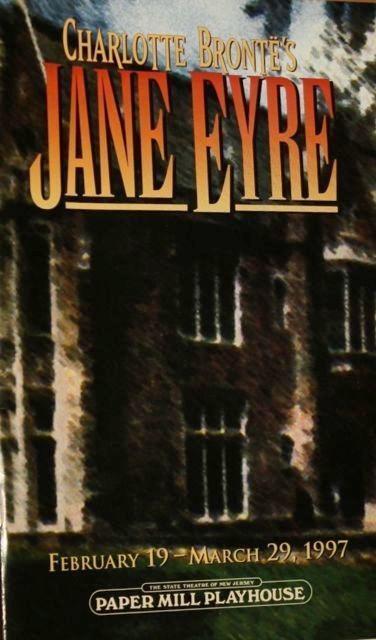 Anne Hathaway  Laura Benanti Playbill Jane Eyre Paper Mill Playhouse  Tom Hewitt
