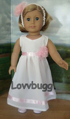 """Lovvbugg Summer Party Dress for 18"""" American Girl Doll Clothes"""