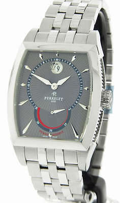 Perrelet Power Reserve Men's Stainless Steel Automatic Movement Watch A1017/B
