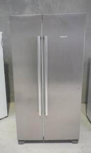 Bosch Stainless Steel  618L Side/Side  Fridge/ Freezer INC DEL Wingfield Port Adelaide Area Preview