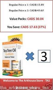 50-ml-100-pure-Tea-Tree-Oil-20-Lotion-skincare-Melaleuca-alternifolia-Holista
