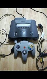 Nintendo 64 N64 Nintendo64 Console plus sport game