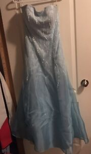 Casual Baby Blue Dress for sale.