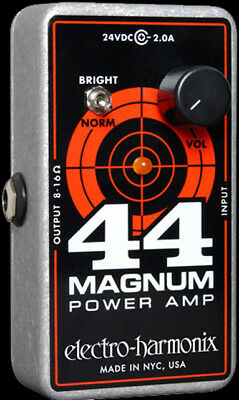 EHX Electro Harmonix 44 Magnum Power Amplifier - Effects Pedal sized